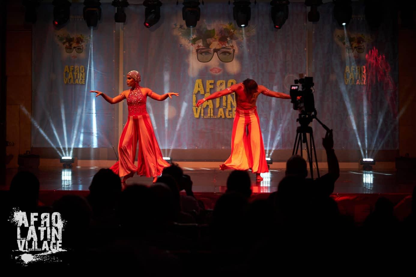 Wilmer y Maria on Spring Afro Latin Village Salsa - Bachata - Kizomba Festival